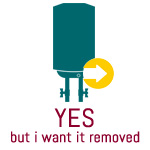 Yes (But I want it removed)